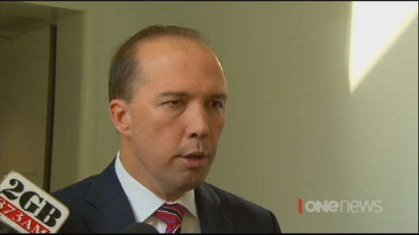 Australia's Immigration Minister Peter Dutton says New Zealanders unhappy in detention can return home whenever they want.