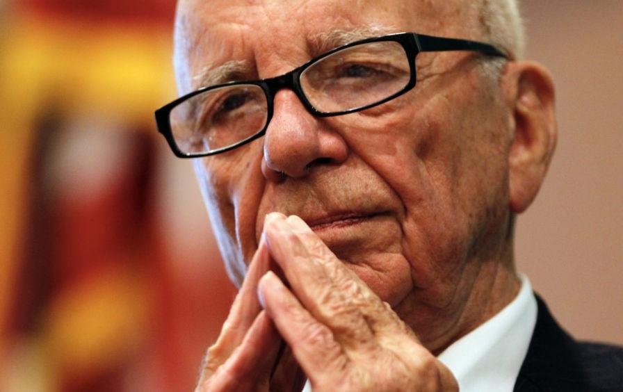 Rupert Murdoch's Face